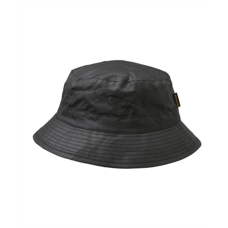 Gorro Barbour Wax Sport black