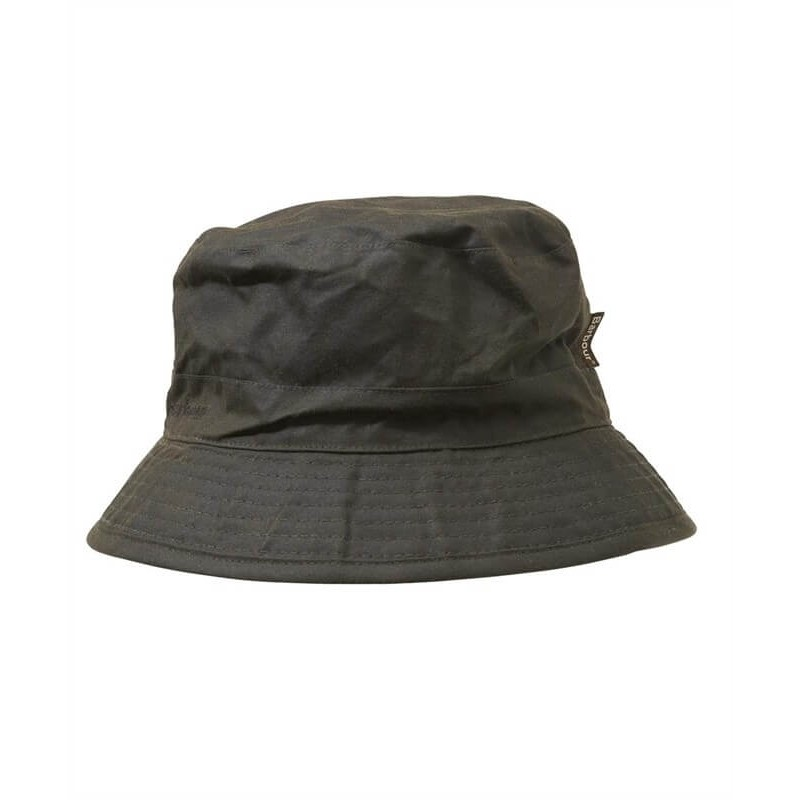 Gorro Barbour Wax Sport olive