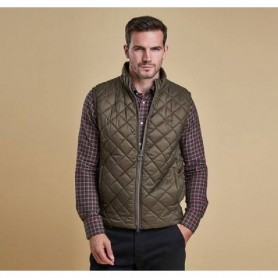Keelson quilt olive - MQU0773OL71 - Barbour - Hombre - Chalecos y Forros BARBOUR
