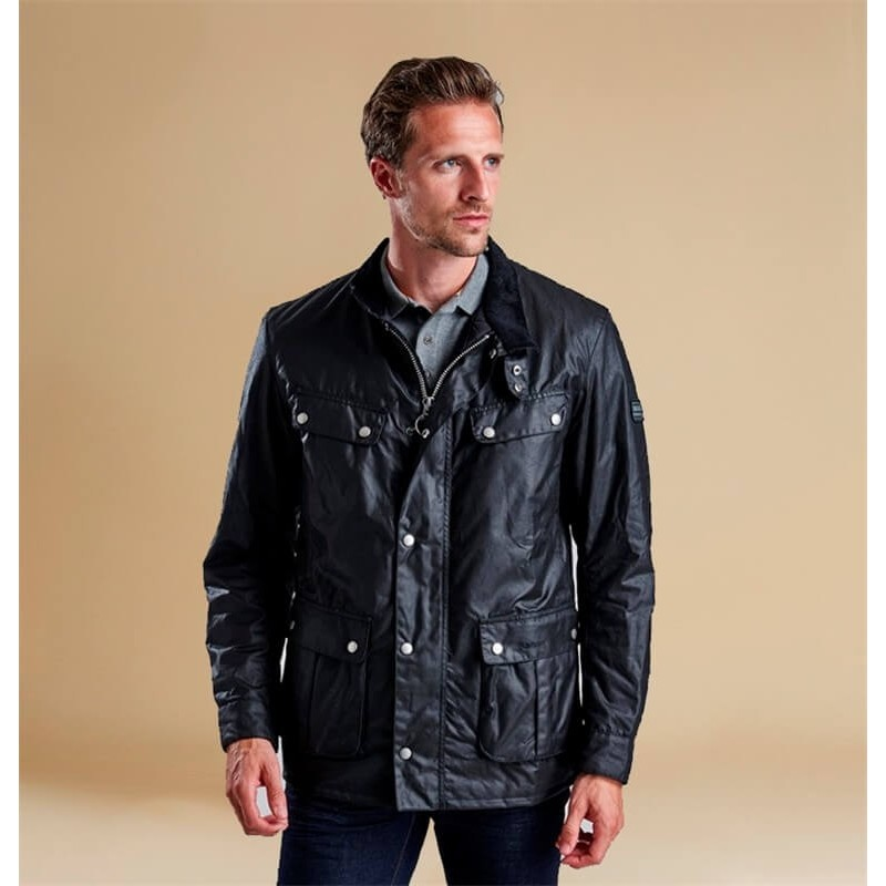 Chaqueta Barbour Duke black - B. International