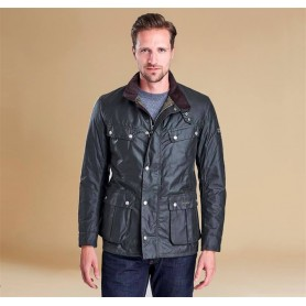 Chaqueta Barbour Duke sage