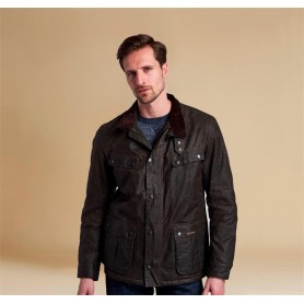 Chaqueta Barbour Winter Duke olive