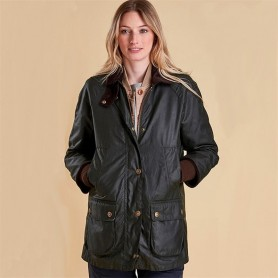 Rain Bedale sage - LWX0614SG51 - Barbour - mujer - Chaquetas BARBOUR