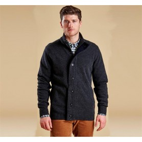 Barbour Patch Zip charcoal marl