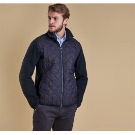 Chaqueta Barbour Trefoil Fleece navy