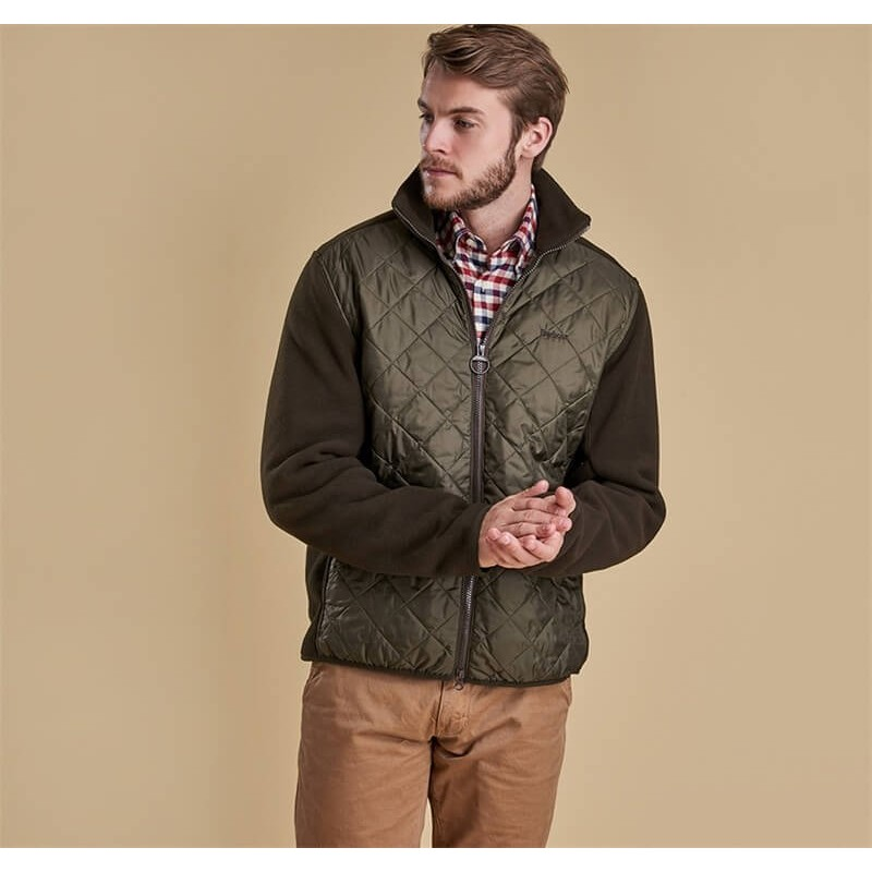 Chaqueta Barbour Trefoil Fleece olive - Barbour