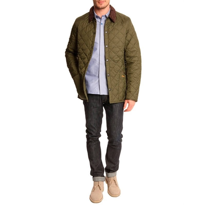 Chaqueta Barbour Heritage Liddeesdale Quilt olive