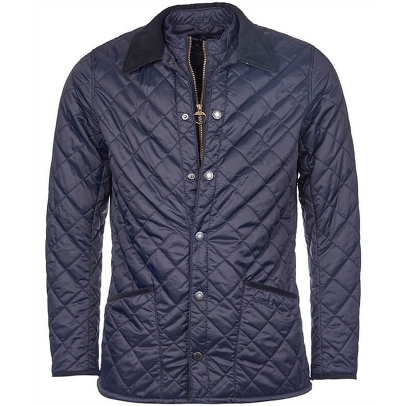Barbour Dunkeld Quilt navy - Chaquetas BARBOUR