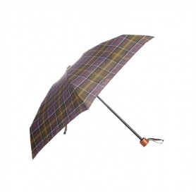 Paraguas Barbour plegable classic tartan