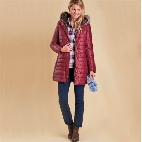 Chaqueta Barbour Rossendale burgundy - Barbour