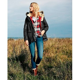 Crevasse navy - LWX0646NY92 - Barbour - mujer - Chaquetas BARBOUR