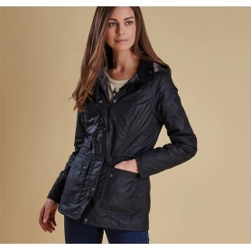 Chaqueta Barbour Orkney navy