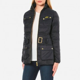 Pannier Baffle black - LQU0730BK11 - B. International - mujer - Chaquetas BARBOUR INTERNATIONAL