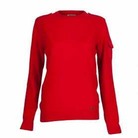 Cadet Crew red - LKN0201RE51 - Barbour - mujer - Jerseys BARBOUR