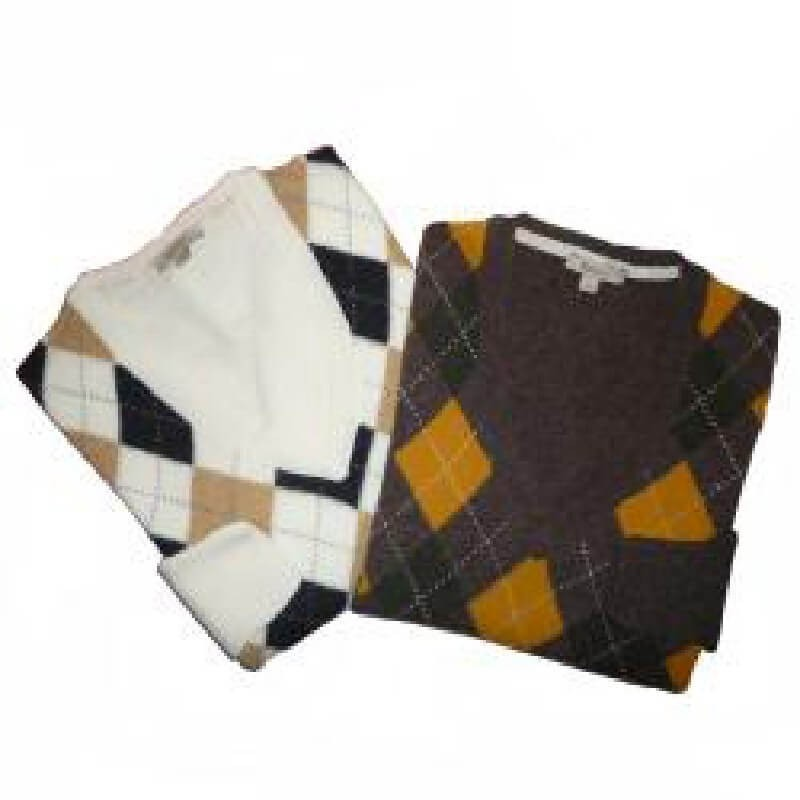 Lams Argyle Marrón - D2408 - Barbour - mujer - Jerseys BARBOUR
