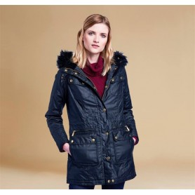 Chaqueta Barbour Mallory black