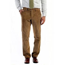 Pantalón de pana Curzon Classics Marrón medio - PANAFAWN - Curzon Classics - Hombre - Pantalones CURZON CLASSICS