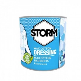 Bote de Cera Storm para tejidos tipo Barbour - STR-WAX-LATA - Curzon Classics - Mantenimiento de prendas CURZON CLASSICS