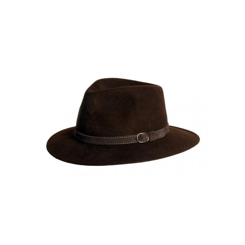 Sombrero Curzon Classics EPSOM Marrón - SOM-EPSOM-MA - Curzon Classics - Gorros y Sombreros CURZON CLASSICS