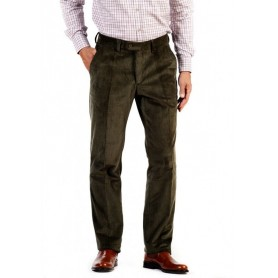 Pantalón de pana Curzon Classics Oliva - TRP-OL - Curzon Classics - Hombre - Pantalones CURZON CLASSICS