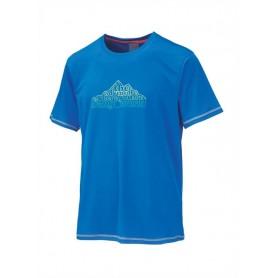 Camiseta TRANGOWORLD Tauber azul oscuro