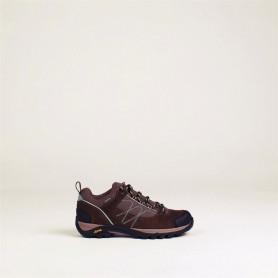 Zapatilla Aigle Mooven Low GTX W marrón oscuro - T0475 - Aigle - mujer - Botas y Zapatos AIGLE