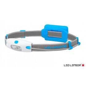 Linterna de Cabeza Frontal Neo Azul - 6110 - Led Lenser - Linternas de cabeza - Frontales