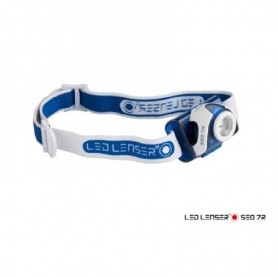 Linterna de Cabeza Frontal Led Lenser SEO 7R Azul - 6107R - Led Lenser - Linternas de cabeza - Frontales