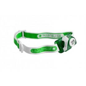Linterna de Cabeza Frontal Led Lenser SEO 3 Verde - 6103VERDE - Led Lenser - Linternas de cabeza - Frontales