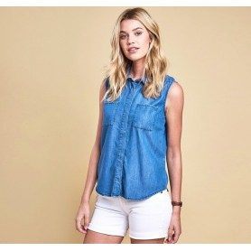 AUGER - LSH1027 - Barbour - mujer - Camisas, Polos y Camisetas BARBOUR