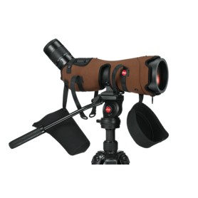 Leica APO-TELEVID 82 + Ocular 25-50x + Funda Original + Trípode MANFROTTO 190CXPro3 + Rótula 500AH - - Leica - OFERTA de Tel...