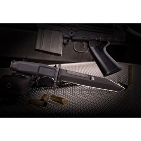 Extrema Ratio FULCRUM BAYONET BLACK - 0301BLK - Extrema Ratio - Bayonetas