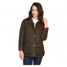 Casisson Beadnell olive - LWX0439OL71 - Barbour - mujer - Chaquetas BARBOUR