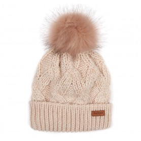 Bridport Pom - LHA0360BE11 - Barbour - mujer - Gorros y Gorras BARBOUR