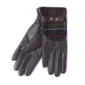 Barbour Dee Tartan - Guantes BARBOUR