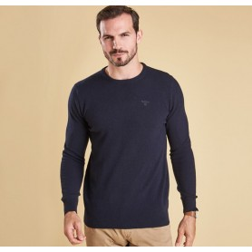 Essential Lambswool Crew Neck - MKN0345 - Barbour - Hombre - Jerseys BARBOUR