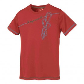 CHAINS Rojo - PC006780 - Trangoworld - Hombre - Camisetas y Polos TRANGOWORLD