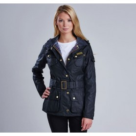 Ladies International black - LWX0003BK51 - B. International - mujer - Chaquetas BARBOUR INTERNATIONAL