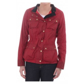 Buxton red - LWX0348RE71 - B. International - mujer - Chaquetas BARBOUR INTERNATIONAL
