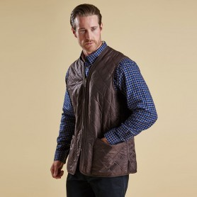 Polarquilt dark brown - MLI0002BR71 - Barbour - Hombre - Chalecos y Forros BARBOUR