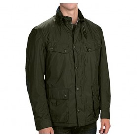 Grampian dark green - MWB0414GN91 - B. International - hombre - Chaquetas BARBOUR INTERNATIONAL