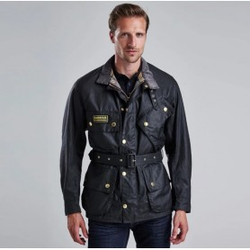 International Original black - MWX0004BK51 - B. International - hombre - Chaquetas BARBOUR INTERNATIONAL