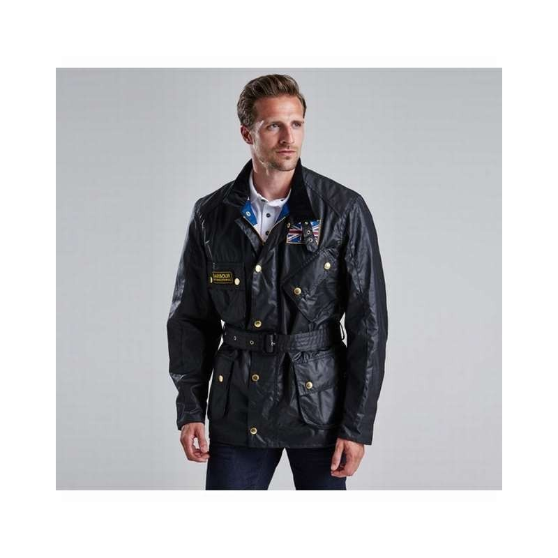 Union Jack black - MWX0068BK91 - B. International - Hombre - Chaquetas BARBOUR INTERNATIONAL