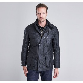 Gauge black - MWX0932BK71 - B. International - hombre - Chaquetas BARBOUR INTERNATIONAL