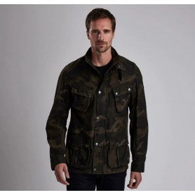 Washed Camo - MCA0569 - B. International - hombre - Chaquetas BARBOUR INTERNATIONAL
