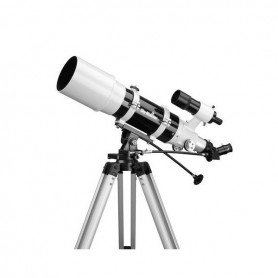 Refractor 120/600 AZ3Eyepieces : Super 10 & 25mm - Erect image diagonal45° - Red Dot Finder - Aluminium tripod