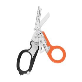 Tijera RAPTOR naranja y negra - funda plástico - caja cartón - 832158 - Leatherman - Multiherramientas LEATHERMAN
