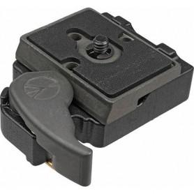 Adaptador a zapata rápida rectangular - 323 - Manfrotto - Zapatas, Pinzas y Adaptadores
