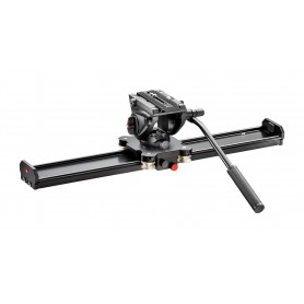 Slider 60cm con rótula MVH500AH - MVS060AMVH500AH - Manfrotto - Rótulas