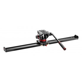 Slider 100cm con rótula MVH502AH - MVS100AMVH502AH - Manfrotto - Rótulas